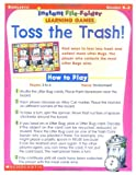 Scholastic: Instant File Folder Learning Games: Toss the Trash