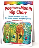 Fleming, Maria: Poem Of The Month Flip Chart: 12 Joyful Read-Aloud Poems With Skill-Building Lessons and Writing Springboards