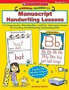 Manuscript Handwriting Lessons: 12…