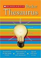 Scholastic Pocket Thesaurus (Scholastic…