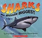Sharks Big Bigger Biggest by Jerry Pallotta