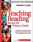 Teaching Reading Beyond the Primary Grades:…