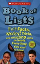 Scholastic Book Of Lists New And Updated by…