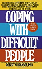 Coping with Difficult People: The…