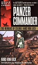 Panzer Commander: The Memoirs of Colonel…