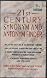 Kipfer, Barbara Ann: Twenty-First Century Synonym and Antonym Finder