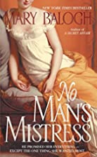 No Man's Mistress by Mary Balogh