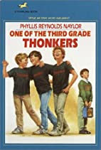 One of the Third Grade Thonkers by Phyllis…