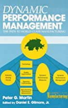 Dynamic performance management by Peter…