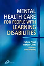 Mental Health Care for People with Learning…