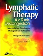 Lymphatic Therapy for Toxic Decongestion:…