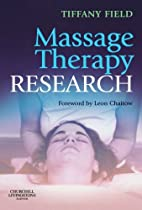 Massage Therapy Research by Tiffany Field…
