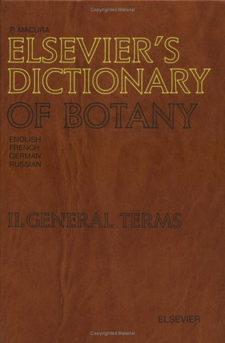 elseviers-dictionary-of-botany-vol-2-general-terms-in-english-french-german-and-russian