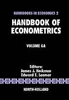 Handbook of Econometrics, Volume 6A by James…