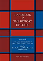 Handbook of the History of Logic: The…