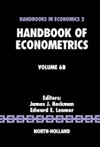 Handbook of Econometrics, Volume 6B by James…