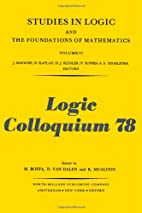 Logic colloquium '78 : proceedings of…