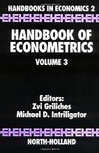 Handbook of Econometrics, Volume 3 by Zvi…