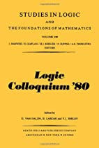 Logic colloquium '80. Papers intended for…