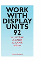 Work with display units 92 : selected…