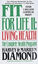 Fit for Life ll by Harvey Diamond