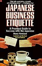 Japanese Business Etiquette: A Practical…