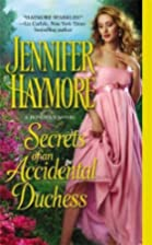 Secrets of An Accidental Duchess (A Donovan…