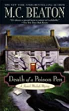Death of a Poison Pen by M. C. Beaton