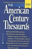 Urdang, Laurence: The American Century Thesaurus