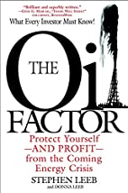 The Oil Factor: Protect Yourself and Profit…