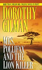 Mrs. Pollifax and the Lion Killer by Dorothy&hellip;