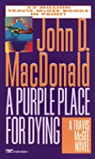 A Purple Place for Dying by John D.…