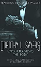 Lord Peter Views the Body (A Lord Peter…
