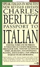 Passport to Italian by Charles Berlitz