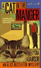 A Cat in the Manger by Lydia Adamson