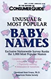 Consumer Guide editors: Unusual and Most Popular Baby Names