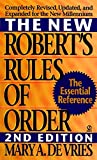 De Vries, Mary A.: The New Robert's Rules of Order