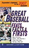 Flatow, Scott: Great Baseball Feats, Facts, &amp; Firsts 2007