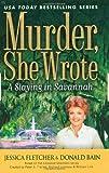 Fletcher, Jessica / Bain, Donald: Slaying in Savannah, a