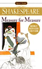 Measure for Measure (Signet Classics) by…