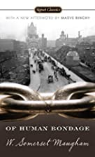 Of Human Bondage by Winston Somerset Maugham