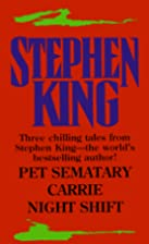 Pet Sematary / Carrie / Night Shift by…