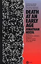 Death at an Early Age by Jonathan Kozol