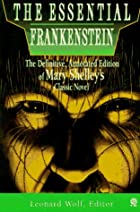 The Essential Frankenstein by Mary Shelley