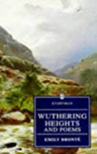 Wuthering Heights and Poems by Emily Brontë