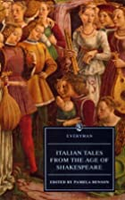 Italian Tales from the Age of Shakespeare…