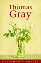 Poems (Everyman 20) by Thomas Gray