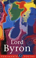 Lord Byron (Everyman's Poetry Series) by…