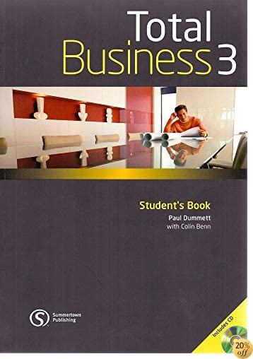 Total Business 3 (Total Business: Providing a complete package for the world of work)