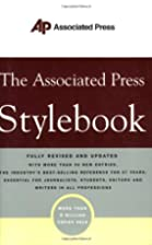The Associated Press Stylebook by Associated…